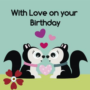 With Love on Your Birthday Card